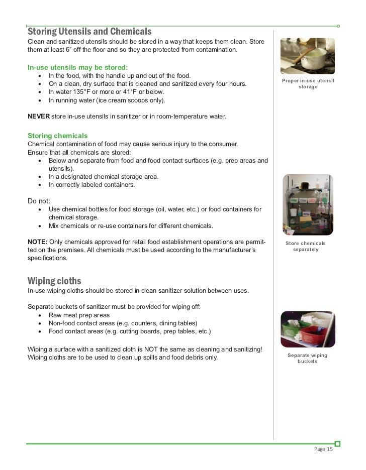 Food Handler Guide