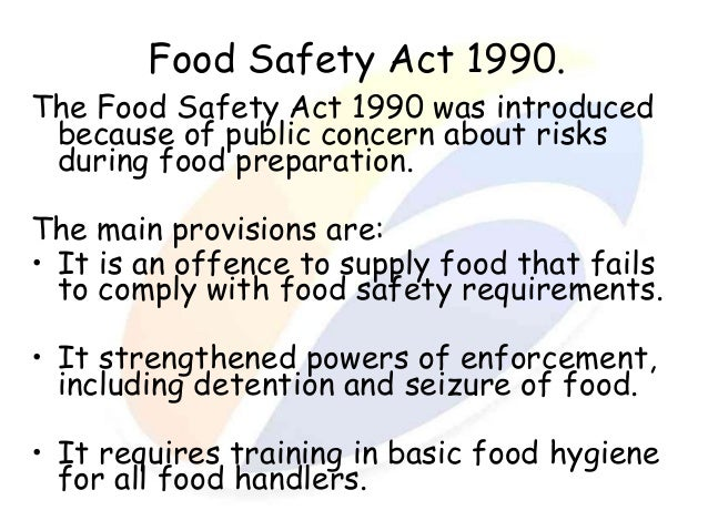 what is food safety pdf