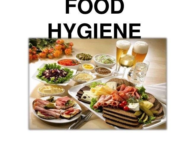 Food hygiene for Hygiene cuisine