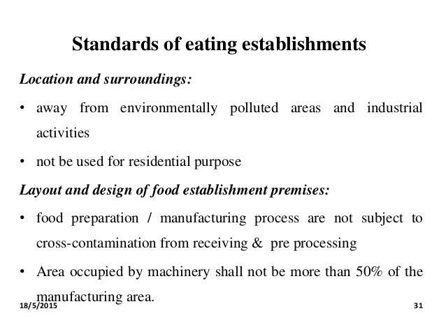 hygiene and food establishment Retail food establishment sanitation requirements title 410 iac 7-24 effective november 13, 2004 indiana state department of health 2 north meridian street.
