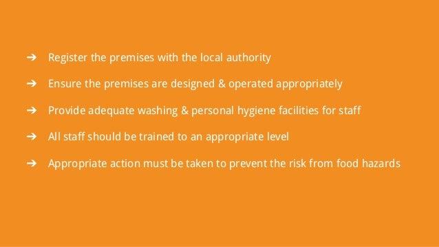 Food Hygiene Rules for Restaurants