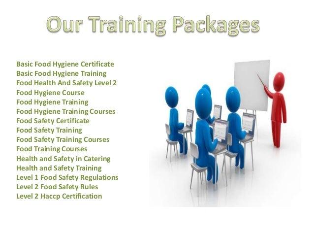Certificate Basic Hygiene In Food Industry