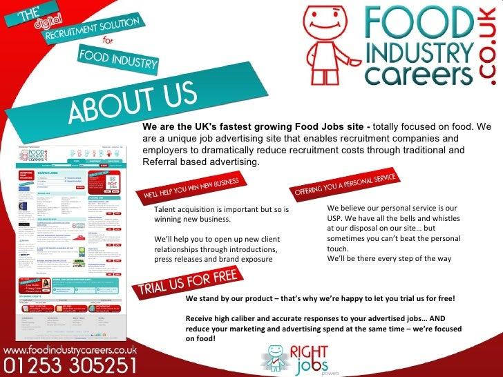 jobs in food