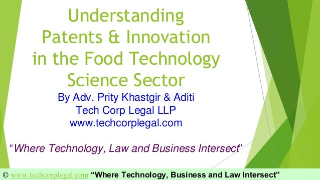 Food Industry Patent Filings Trends   Understanding International Pat…