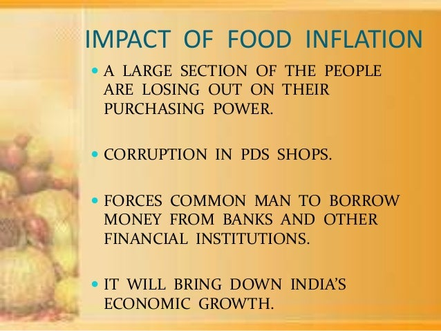 study of food inflation in india Money supply and its impact on inflation and interest rate: a case study of india during 2003-04 to 2013-14.