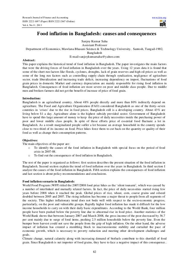 Food Inflation Research Papers - Academia.edu