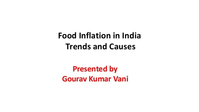 Inflation in india causes and options