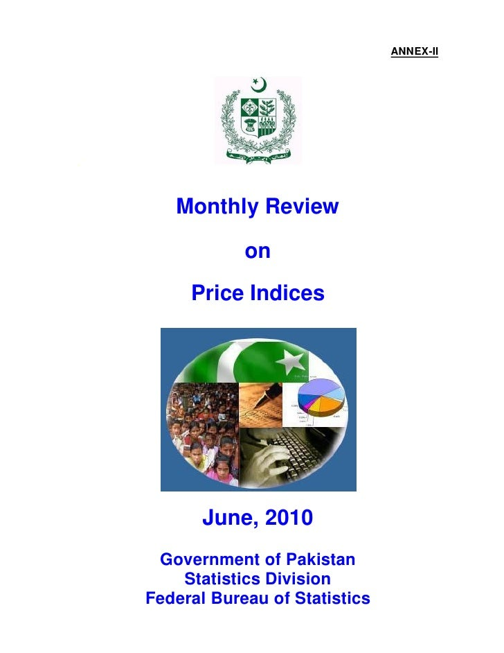 Monthly Review on Price Indices