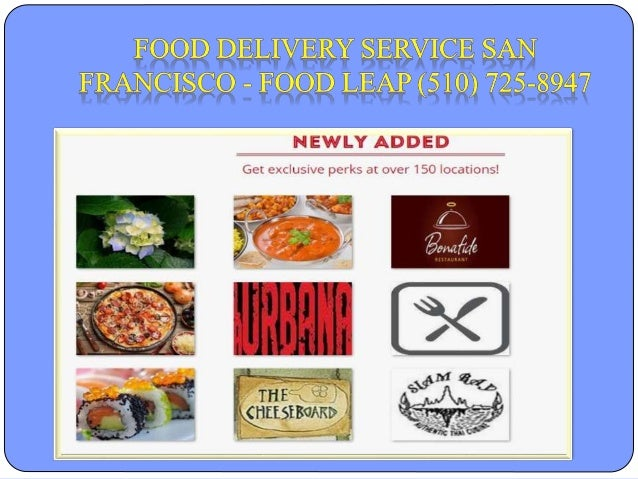 Best Free Food Delivery San Francisco