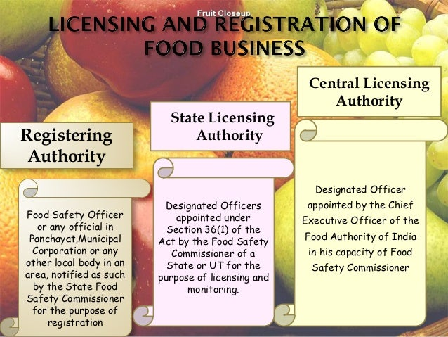India Food Licensing Registration Impact To Industry