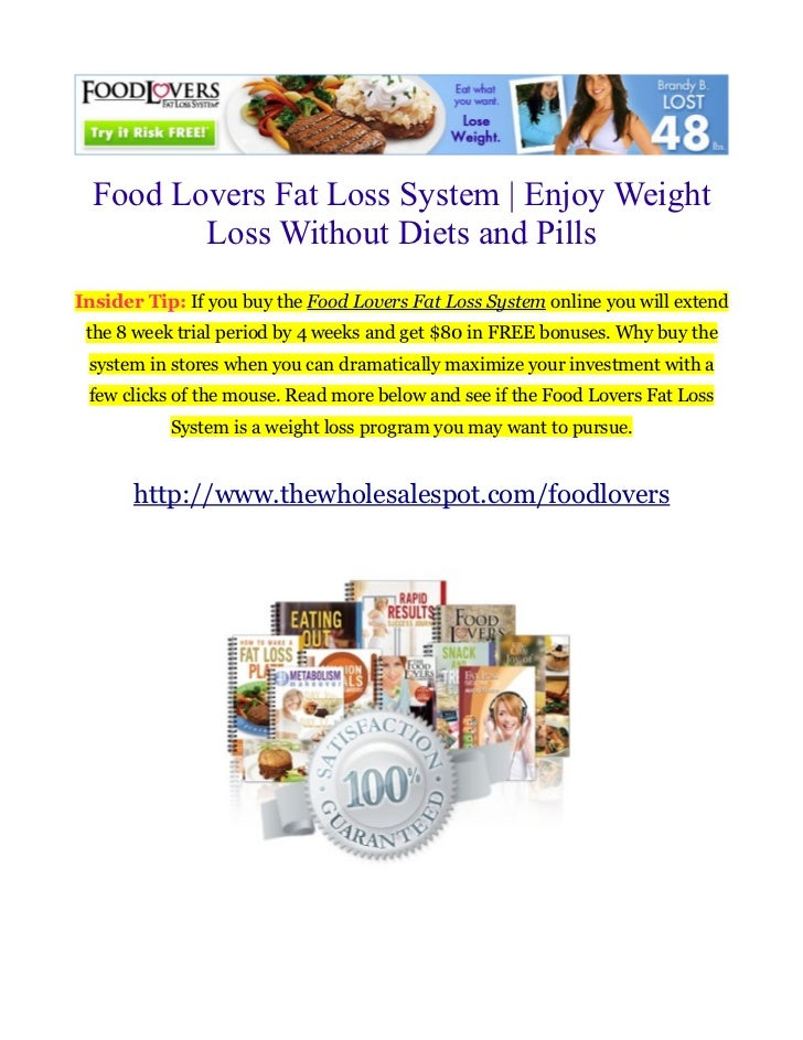 Foodlovers Fat Loss System