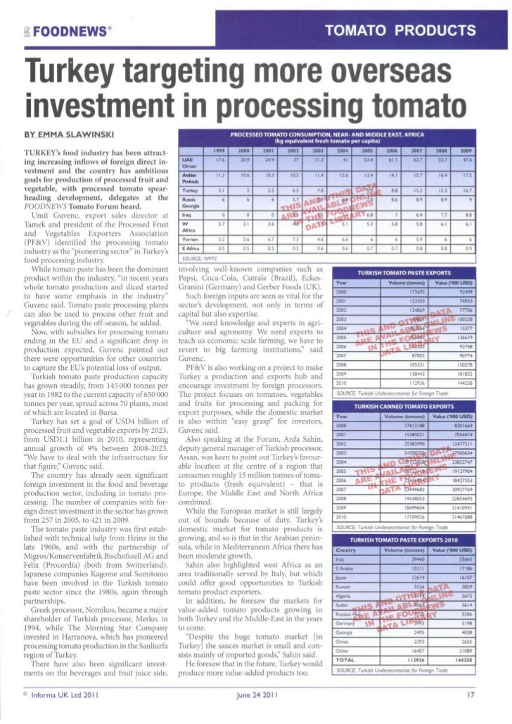 Food News    Tomato Products   24 June 2011 (2)