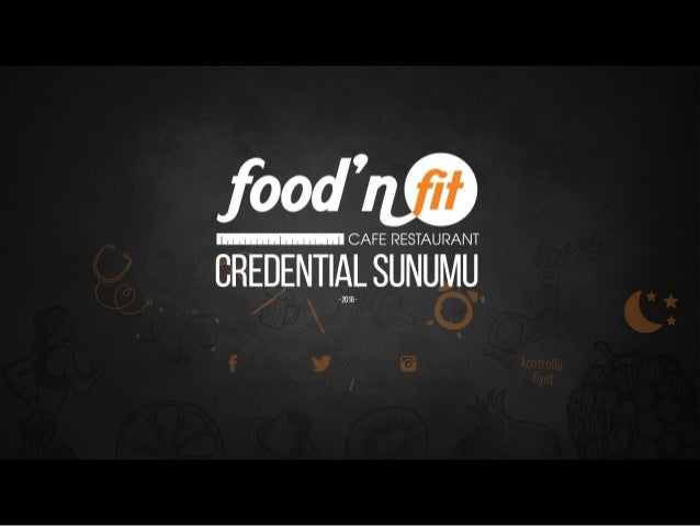 Food'n Fit - Tanıtım Sunumu (2016)