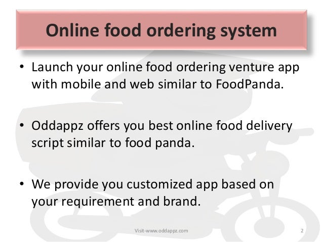Foodpanda clone script - ready made solution