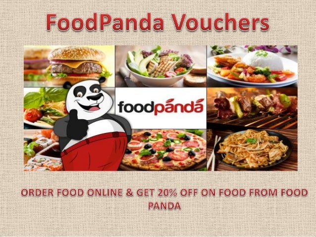 Foodpanda coupons and voucher codes discount january 2014