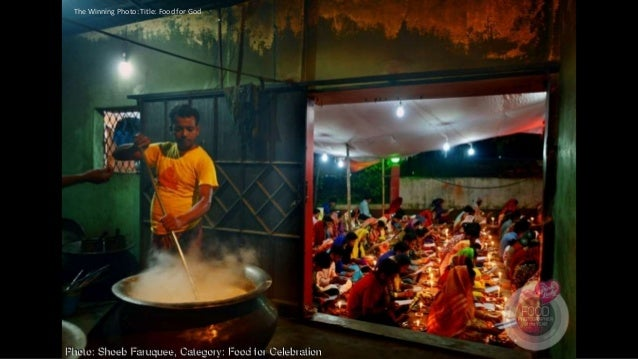 The Winning Photo: Title: Food for God