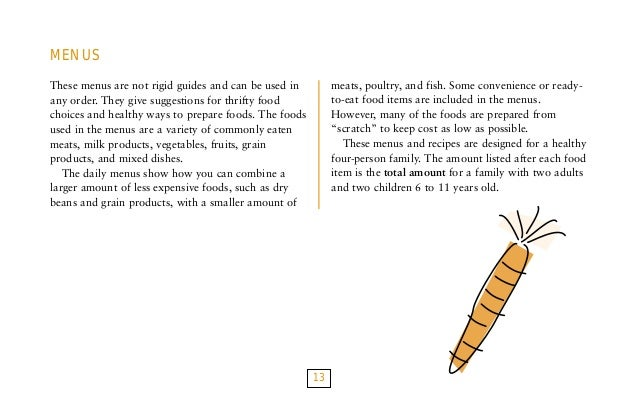 Food plans recipe book 12 13 forumfinder Images