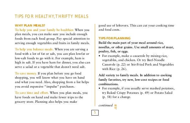Food plans recipe book 5 forumfinder Images