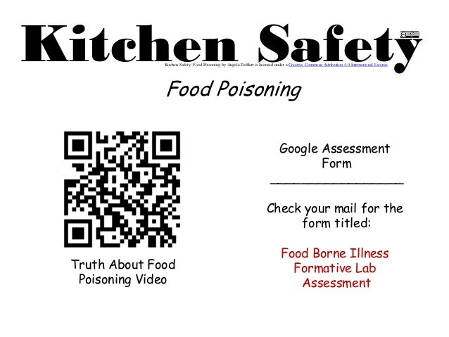 Kitchen Safety QR Code Lab: Food Poisoning