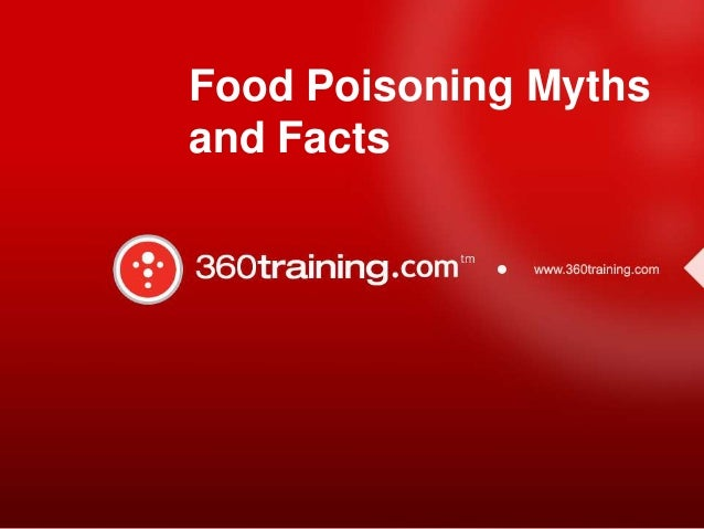 Food Poisoning Myths and Facts