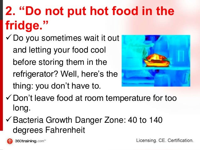 How Long Can You Leave Food At Room Temperature