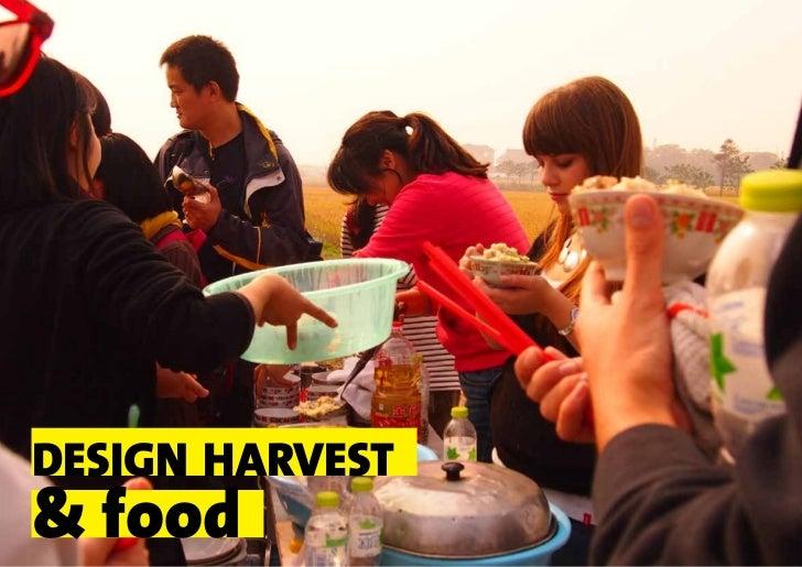 design harvest& food