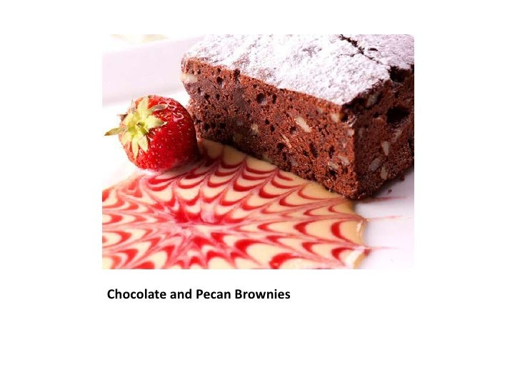 Chocolate and Pecan Brownies <br />