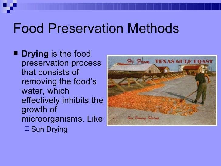 Food Preservation Methods ...  sc 1 st  SlideShare & Food Preservation