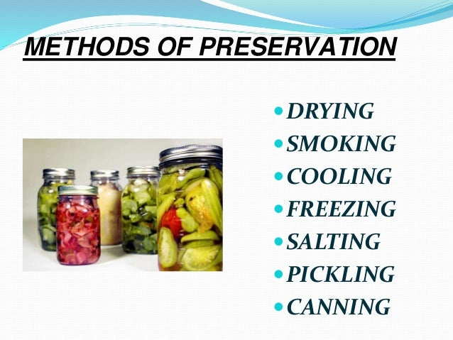 Food Preservation Recipes Meat