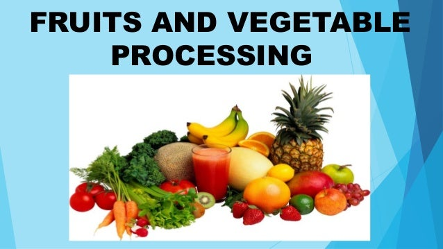 Food Preservation Processing And Labelling