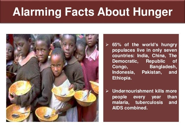 Facts about Hunger in Indonesia