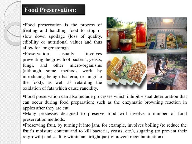 Food processing industry food preservationfood preservation forumfinder Gallery
