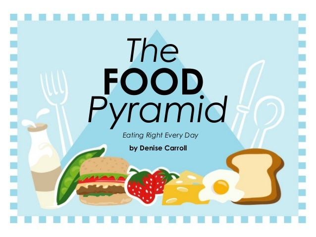 The FOODPyramid Eating Right Every Day  by Denise Carroll