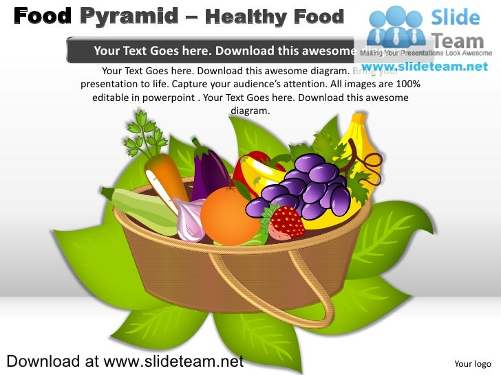 Image Of Healthy Food Pyramid Pie Chart Food Pyramid Of Pie Chart
