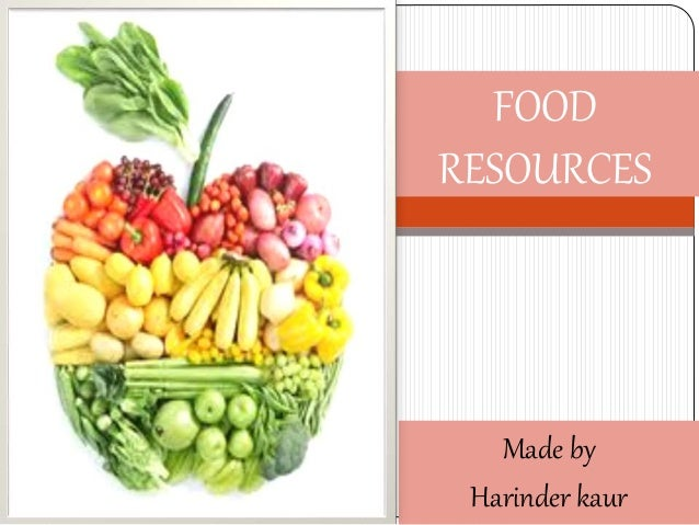 food resources world food problems