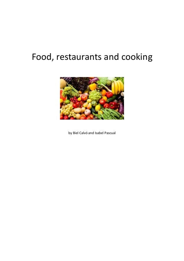 Food, restaurants and cooking by Biel Calvó and Isabel Pascual