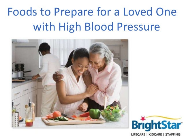 Foods to Prepare for a Loved One with High Blood Pressure