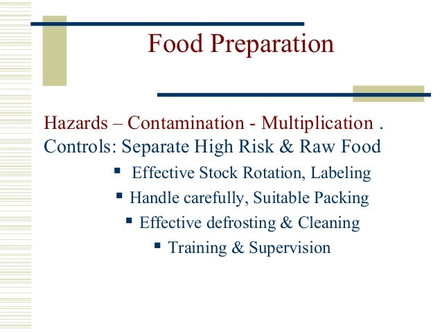 Food Safety A Introduction
