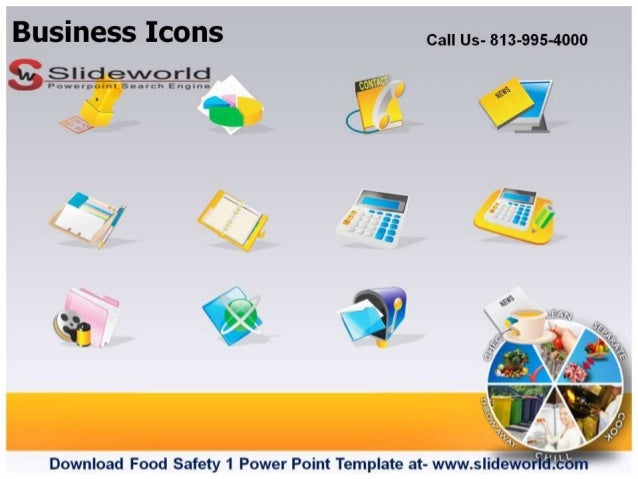 food safety powerpoint template - food safety 1 powerpoint template