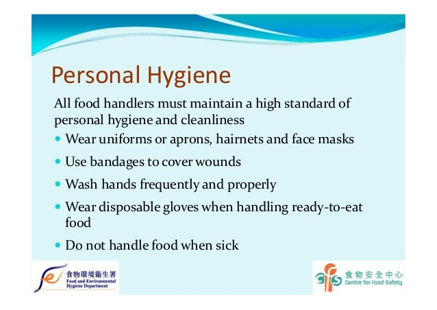 personal hygiene in food and beverage People by a food or beverage 167 handwashing and personal hygiene  national food service management institute handwashing and personal  hygiene.