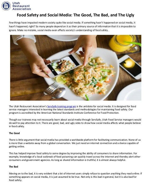 social media for food
