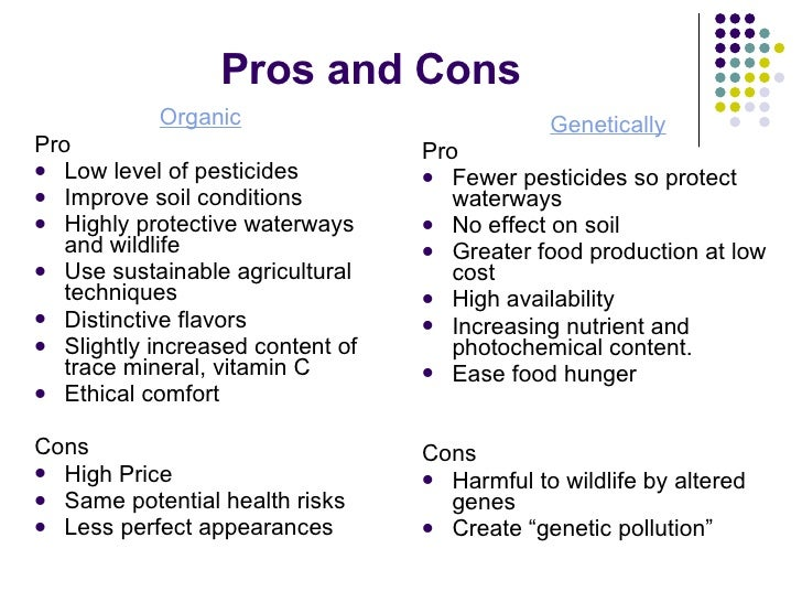 Pros and cons of junk food essay