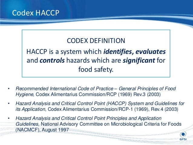 Food safety audit and assessment - Haccp definition cuisine ...