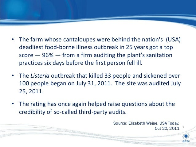Australian Food Safety Assessment
