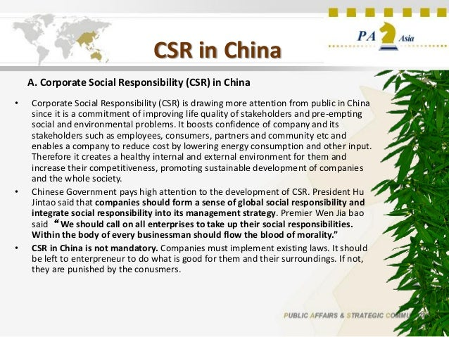 corporate social responsibility in chinas auto China's richest india's richest  8 corporate social responsibility (csr) trends to look for in 2018  susan is a serial connector, passionate cause marketer and corporate responsibility .
