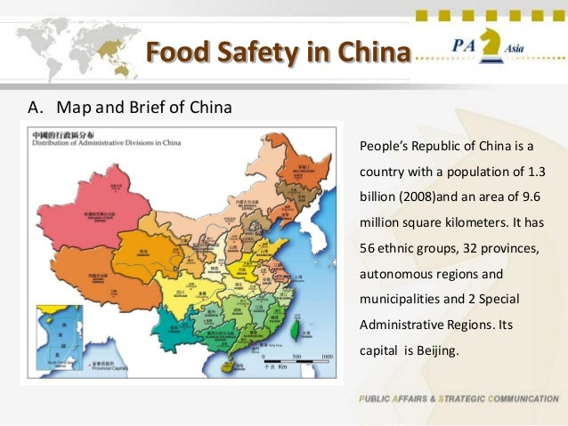 """food safety issue in china Having safe food to eat concerns everyone, but you could argue that china has become notorious for its food safety scandals: melamine-laced milk, recycled """"gutter."""