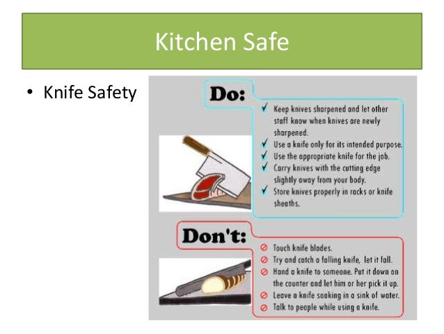 Food safety day 3 for 3 kitchen safety rules