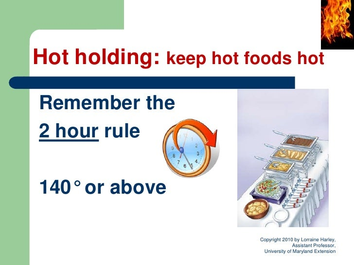 Food Safety Is For Everyone Module 4 Temperature Matters