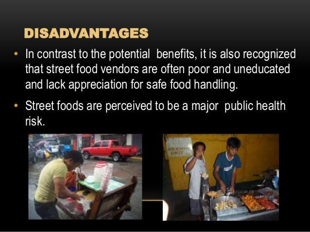 research links about street foods