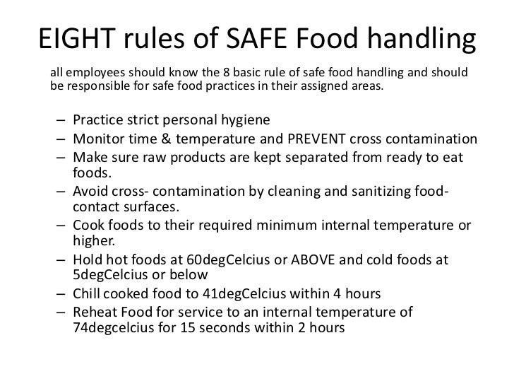 Food Safety Amp Hygiene Presentation